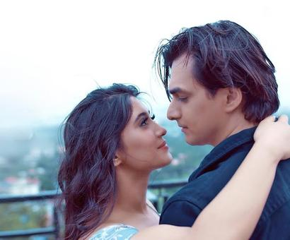 Shivangi Joshi and Mohsin Khan`s first music video `Baarish` will make you fall in love over again!