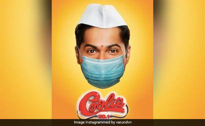 Varun Dhawan's 'Coolie No 1' Poster, Complete With Mask