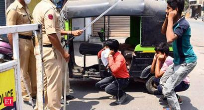 From squats to frog jumps, police punish lockdown violators in Bengal