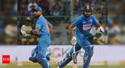 ICC ODI rankings: Kohli, Rohit hold on to top two batting spots
