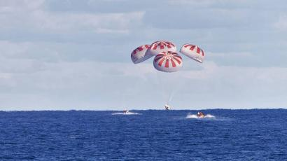 NASA astronauts splashdown after journey home aboard SpaceX capsule