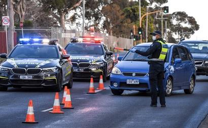 Australia Steps Up Patrols In Melbourne's Locked Down Virus Hotspots