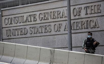 US Consulate Employee Attacked In Hong Kong: Police