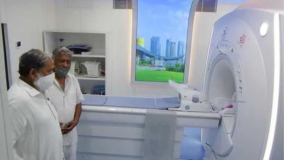 Vij inaugurates MRI and CT Scan centre at Ambala Cantt civil hospital