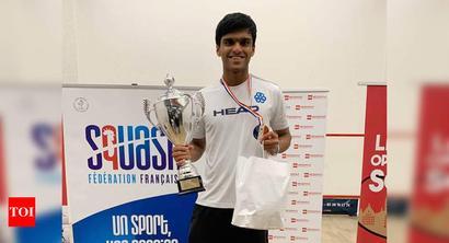 Goa's Yash Fadte wins French Junior Open squash championship
