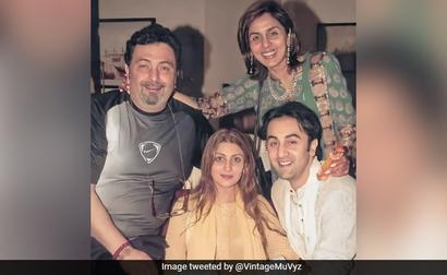 A Trip Down Memory Lane With Rishi, Neetu, Riddhima And Ranbir Kapoor