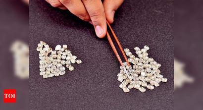 Diamond exports dip 41% to Rs 7k crore in June