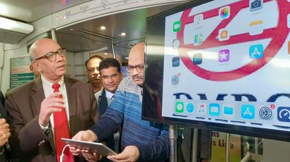 Delhi Metro Launches Free Wi-Fi in Coaches on Airport Express Line