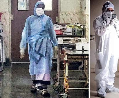 Lack of bodysuits for docs, nurses cripples hosps