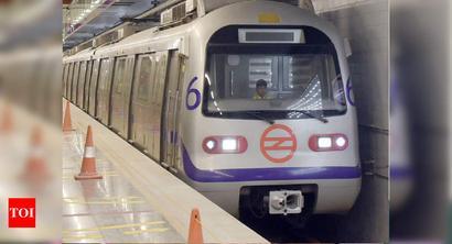 Delhi Metro to run at height of an 8-storey bldg