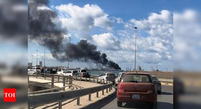 Port hit by rocket fire in Libyan capital: Witnesses