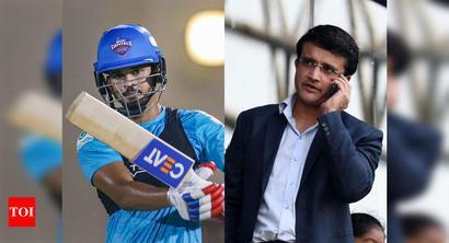 IPL 2020: Delhi Capitals skipper's comments on receiving Ganguly's help raises questions on conflict