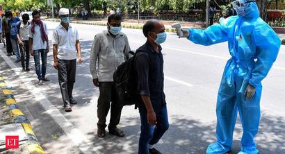 COVID-19: India records highest single-day spike of 8,380 cases; death toll climbs to 5,164
