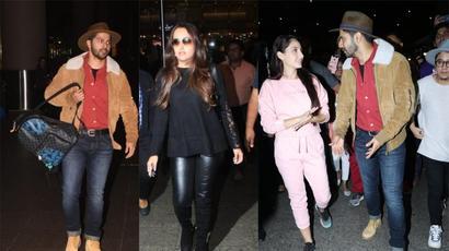 Varun Dhawan, Natasha Dalal return from New Year vacation, Nora Fatehi has a surprise...