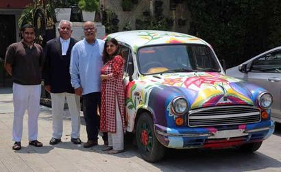 Chandigarh: Finally, car with artwork gets registration number