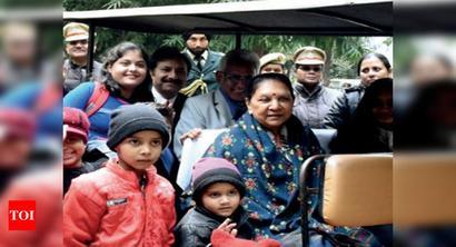 UP governor plans mini zoo in Raj Bhawan soon
