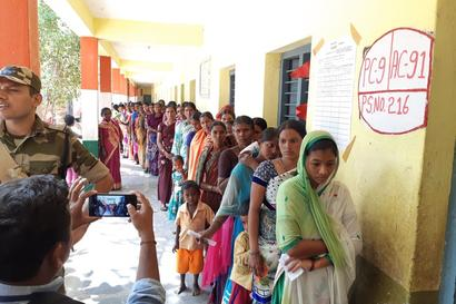 Moderate Turnout in Bypolls to 51 Assembly & 2 Lok Sabha Seats, Rains Mar Polling in Kerala