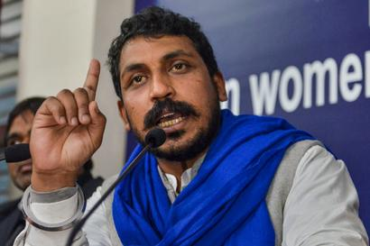 Strengthening Movement against CAA and NRC Primary Concern, Not Elections: Chandrashekhar Azad