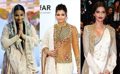 Sarees At Cannes And More - The Decade's Top Fashion Moments