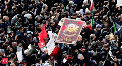 'Million-strong' homage for Qasem Soleimani brings Tehran to standstill
