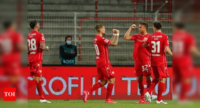 Marcus Ingvartsen rescues point for 10-man Union Berlin