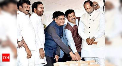 Piyush Goyal rebuts TRS charge, says railway budget for Telangana hiked 10 times