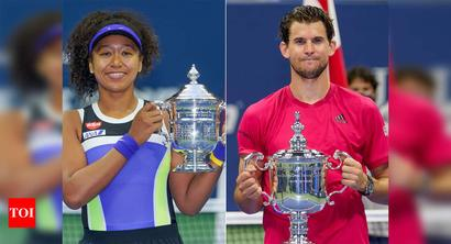 Champions Osaka, Thiem make the most of US Open adversities