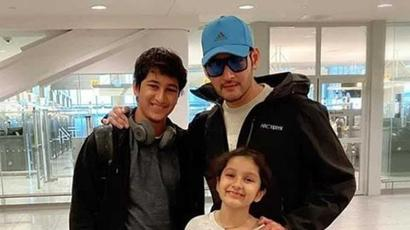 Mahesh Babu bonds with son Gautam over tennis in lockdown, see video