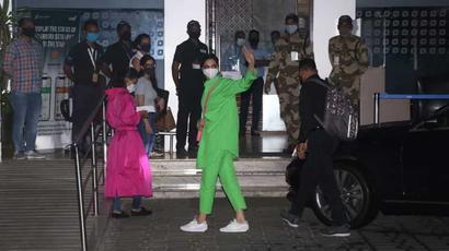 Deepika Padukone spotted at Mumbai airport on her way to Goa, see pics