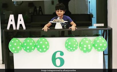 Allu Arjun's Birthday Post For Son Ayaan Is All About