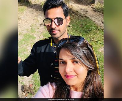 Fan Asks Bhuvneshwar Kumar To Describe His Wife In Few Words. His Reply