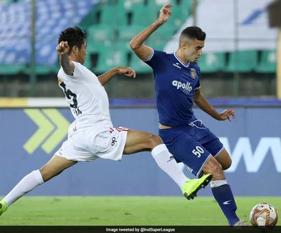 Watch: Wonder Goal Helps Chennaiyin FC Down NorthEast United 2-0