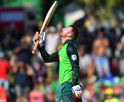 PIX: Klaasen ton leads South Africa to big win over Australia
