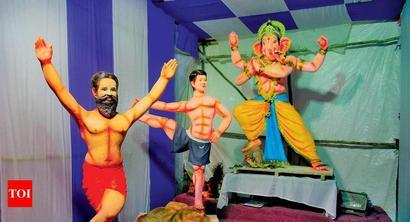 Ganesha visits Hyderabad in a myriad avatars this year