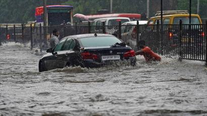 Mumbai rains LIVE updates | Barring essentials, all offices to remain shut; train services disrupted
