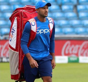 Agarwal replaces injured Dhawan in India's ODI squad