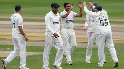 Mohammad Abbas claims ten wickets in a day to batter hapless Durham