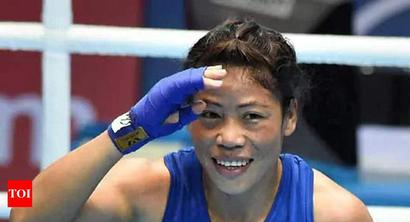 Mary Kom thanks World Olympians Association for 'OLY' title