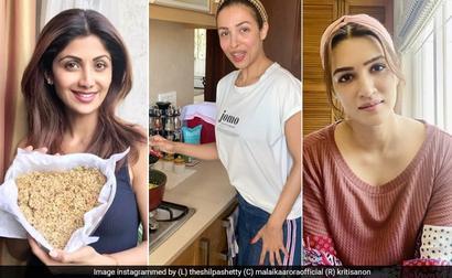Kriti Sanon, Shilpa Shetty, Malaika Arora And More Are Cooking Up A Storm